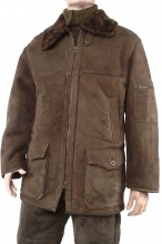 Shearling jacket - merino leather