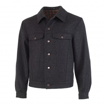 Loden jacket - Jeanslook (Dallas)