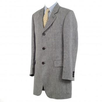 Short coat - pure linen (Modena)