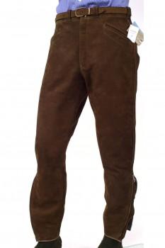 Stiefelhose - Leder (Mur)
